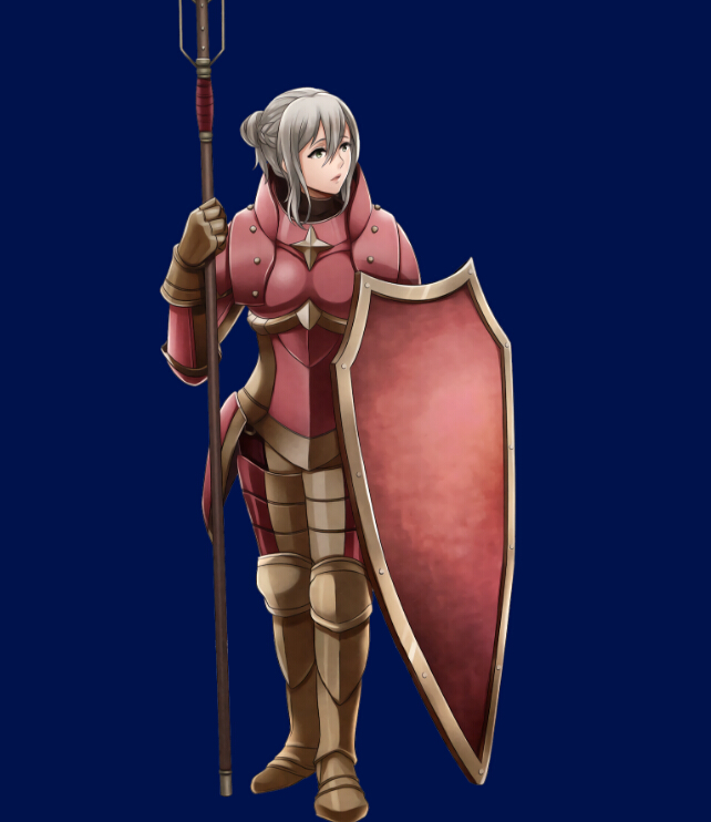 Effie Cosplay Costume from Fire Emblem Fates