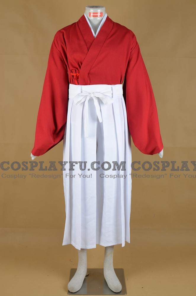 Kenshin le vagabond Kenshin Himura Costume (4nd)