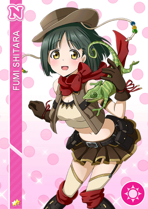 Fumi Cosplay Costume from Love Live