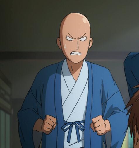 Saitama Cosplay Costume (Kimono) from One Punch Man