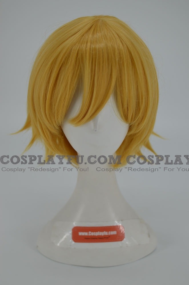 Blonde Wig (Short, Straight, MA01)