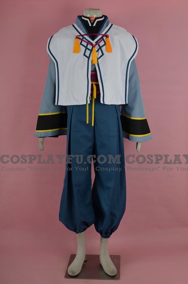 Oshutoru Cosplay Costume from Utawarerumono: Itsuwari no Kamen
