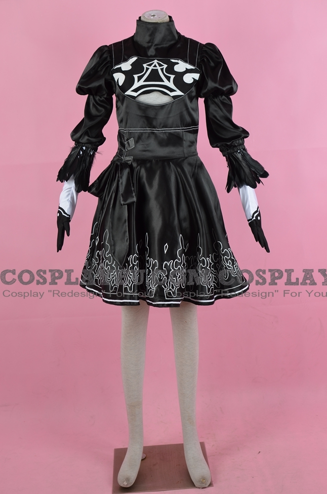 2B Cosplay Costume from NieR: Automata