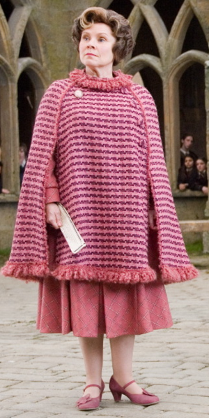 Dolores Cosplay Costume from Harry Potter