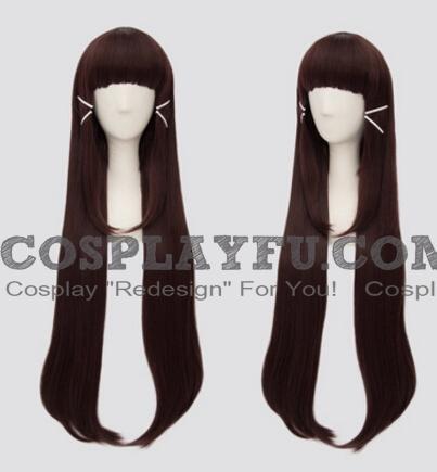 Brown Wig (Long, Straight, MA06)