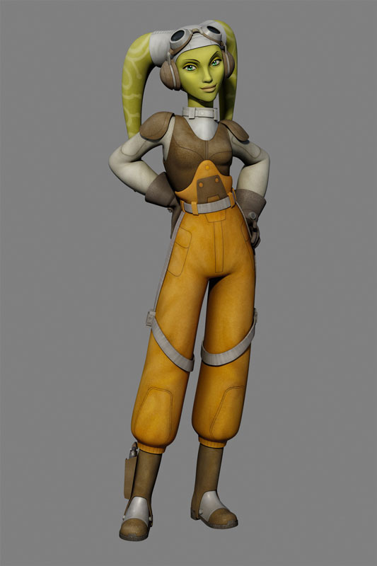 Hera Cosplay Costume from Star Wars Rebels