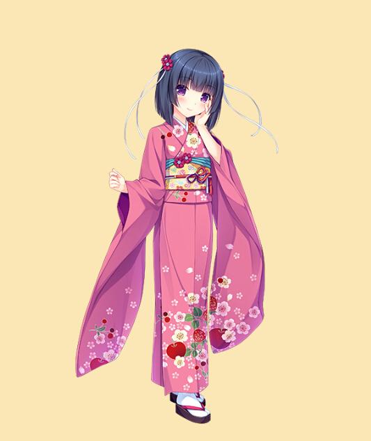 Shigure Kimono from Nekopara
