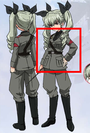 Anchovy Jacket from Girls und Panzer