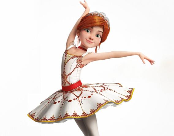 Felicie Cosplay Costume from Ballerina