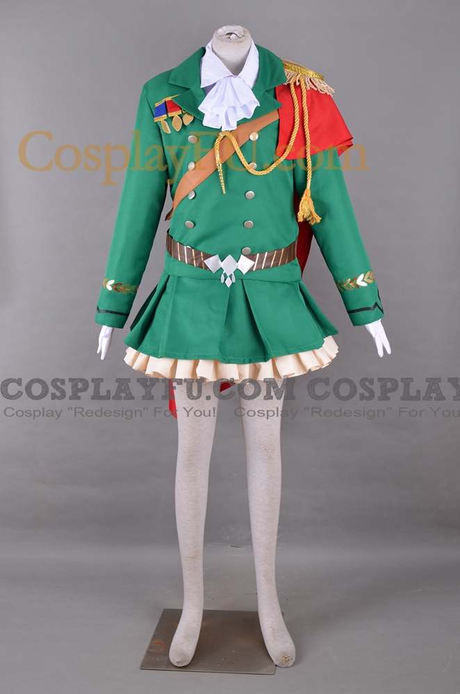Uma Musume Symboli Rudolf Costume (Idol)