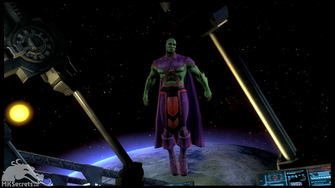 Martian Manhunter Cosplay Costume from Injustice