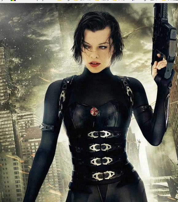Alice Cosplay Costume from Resident Evil