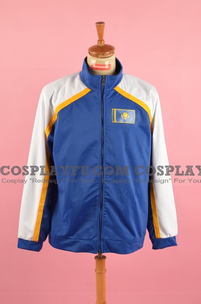 Otabek Cosplay Costume (Jacket) from Yuri on Ice