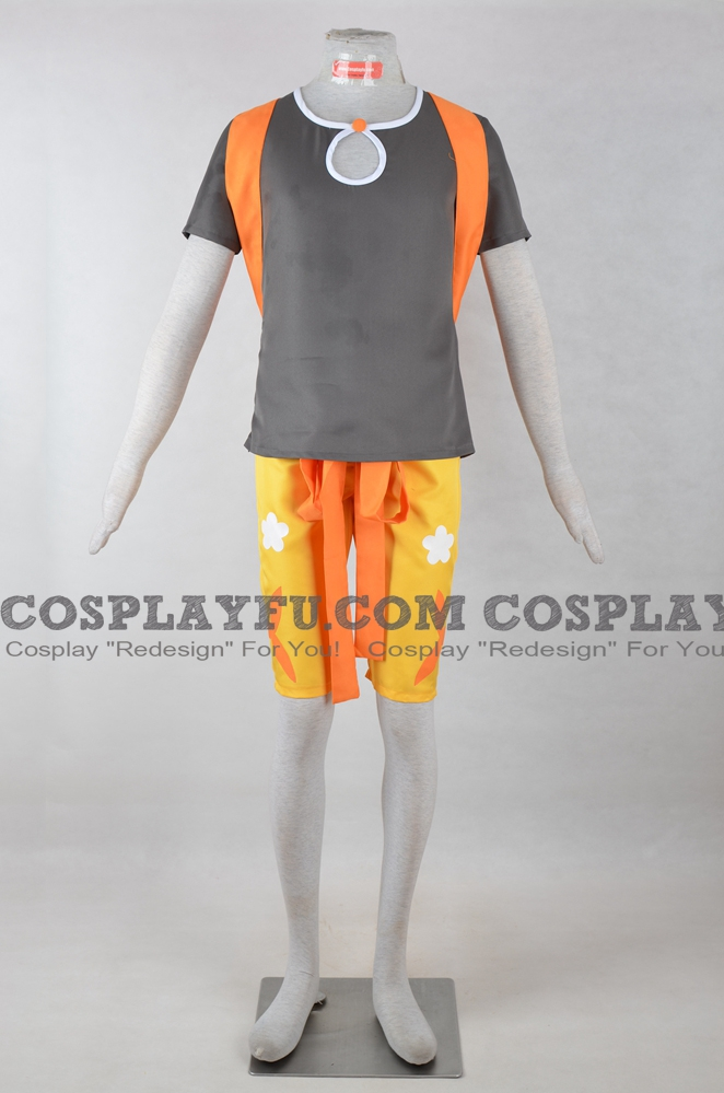 Hau Cosplay Costume from Pokemon Sun and Moon