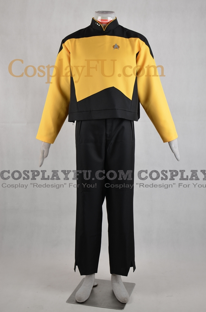 Data Cosplay Costume from Star Trek The Next Generation