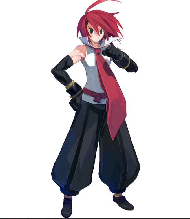 Adell Cosplay Costume from Disgaea 2: Cursed Memories