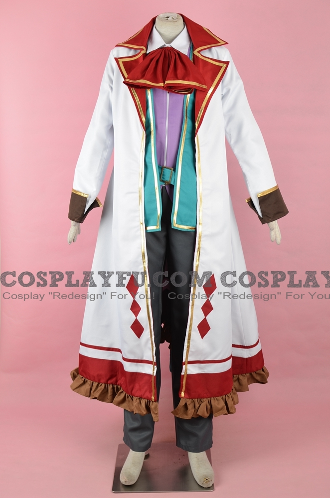 Mad Hatter Cosplay Costume (Mirror) from Grimms Notes
