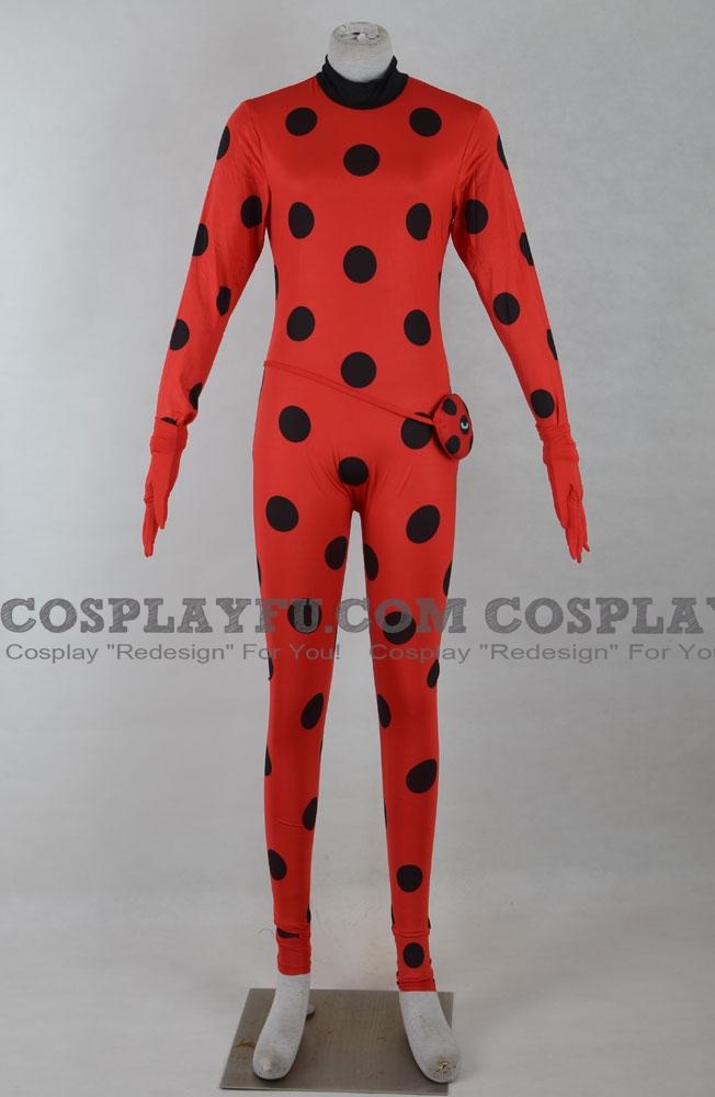 Miraculous - Le storie di Ladybug e Chat Noir Ladybug Costume (F116)