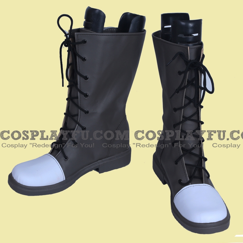 Jaune Arc Shoes from RWBY