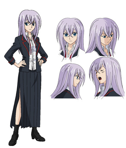 Misaki Cosplay Costume from Cardfight!! Vanguard G: Gears Crisis-hen