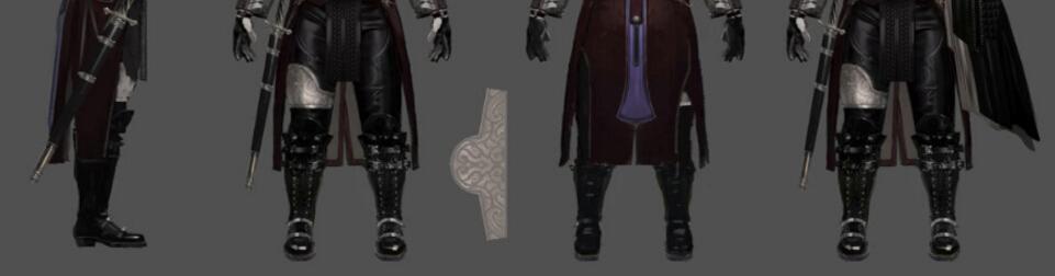 Final Fantasy XV Titus Drautos Schuhe