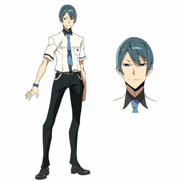 Tsuguhito Cosplay Costume from Kiznaiver