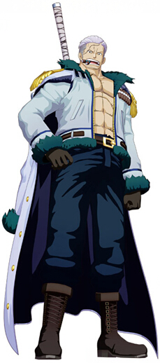 Smoker Cosplay Costume (Top and Coat) from One Piece
