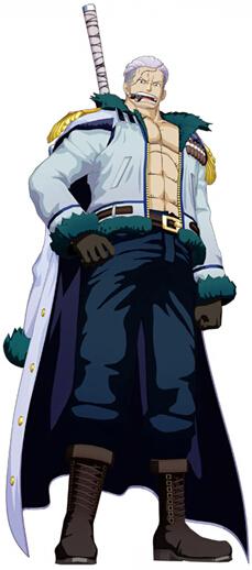 One Piece Smoker Disfraz (Top and Coat)