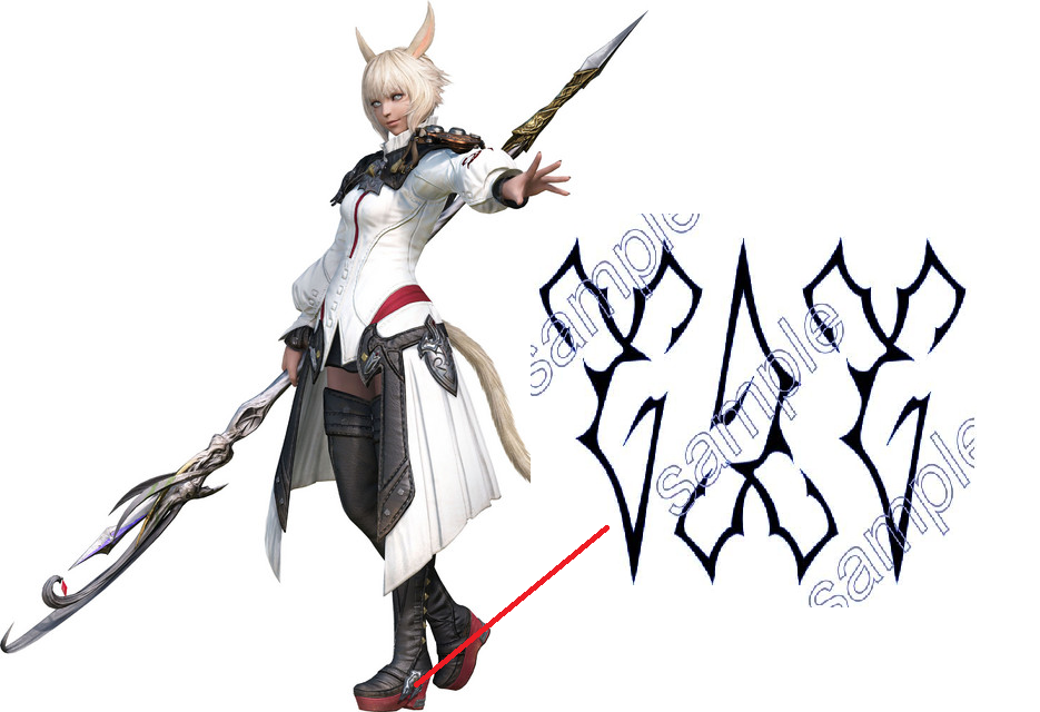 Y'shtola Shoes from Final Fantasy XIV