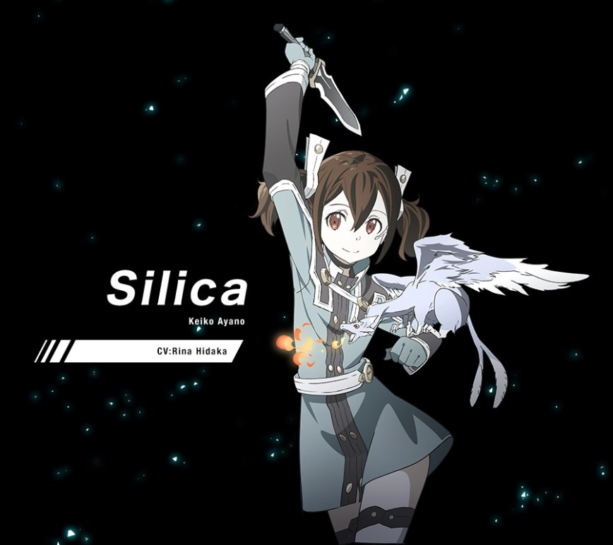 Silica Cosplay Costume from Sword Art Online The Movie Ordinal Scale