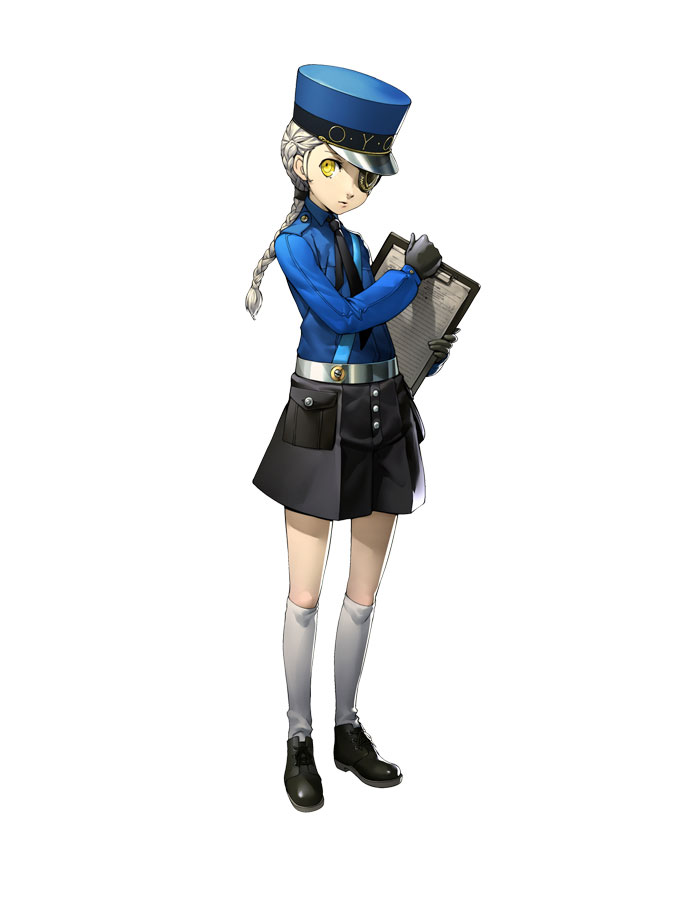 Justine Cosplay Costume from Persona 5