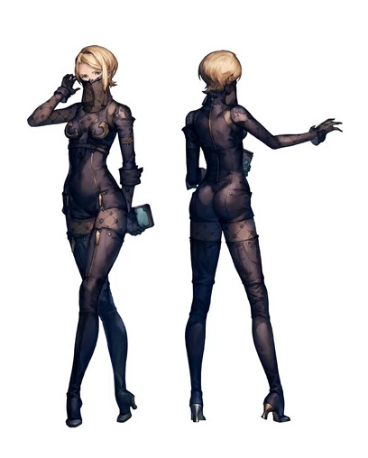 Operator 21O Cosplay Costume from NieR: Automata