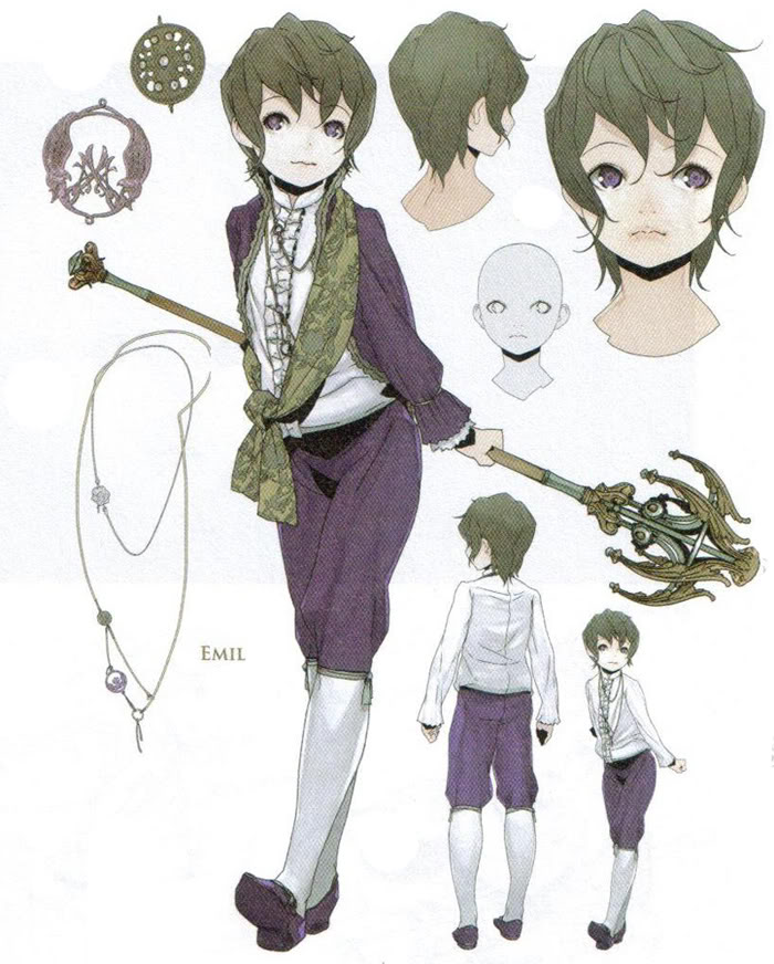 Emil Cosplay Costume from NieR