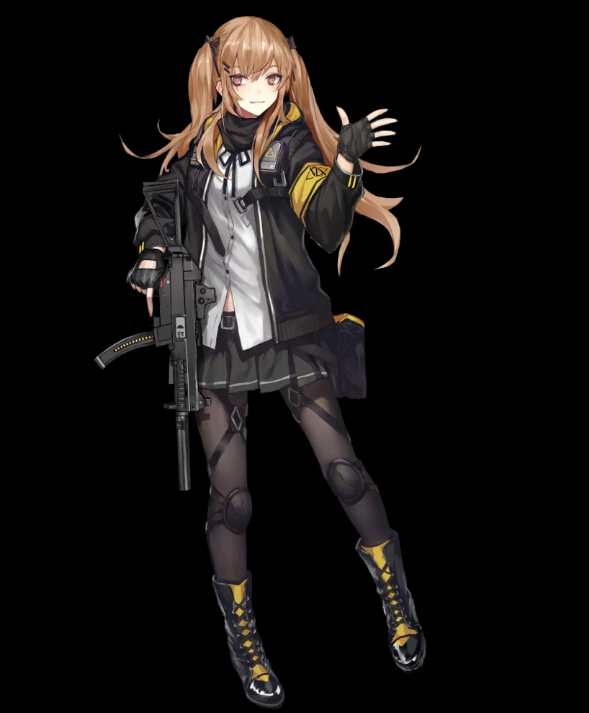 Girls' Frontline UMP 9 복장