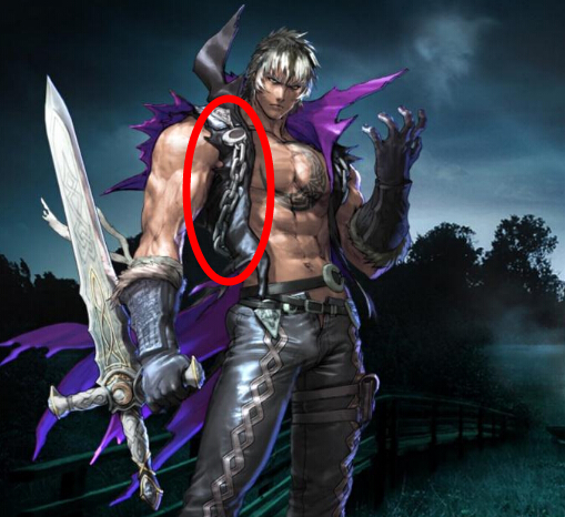 ZWEI Chains from Soulcalibur