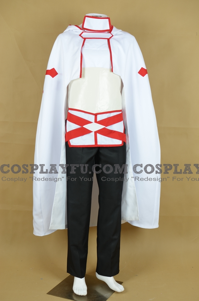 Eiji Cosplay Costume (Knights of the Blood Oath) from Sword Art Online