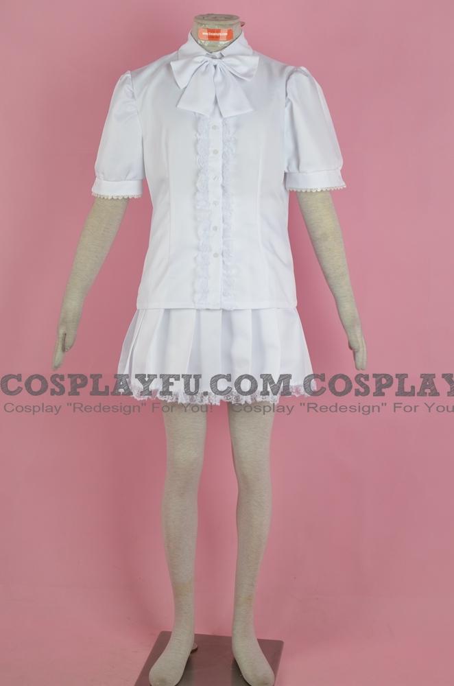 Kyubey Cosplay Costume (Human) from Puella Magi Madoka Magica