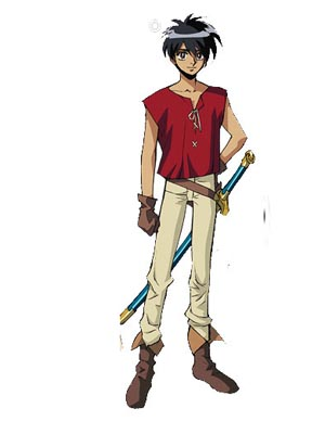 Van Cosplay Costume from The Vision of Escaflowne