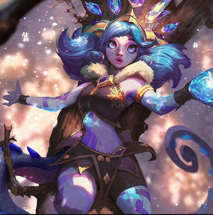 Winter Wonder Neeko Cosplay Costume from League of Legends