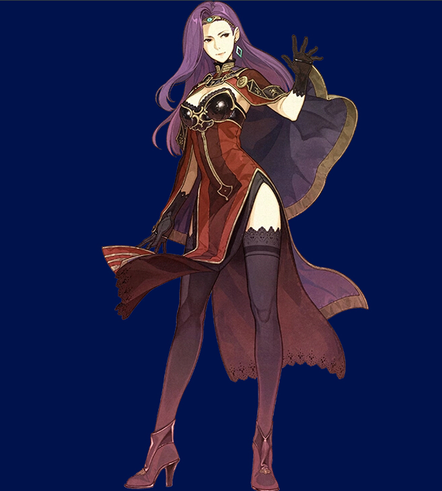 Sonya Cosplay Costume from Fire Emblem Echoes Shadows of Valentia