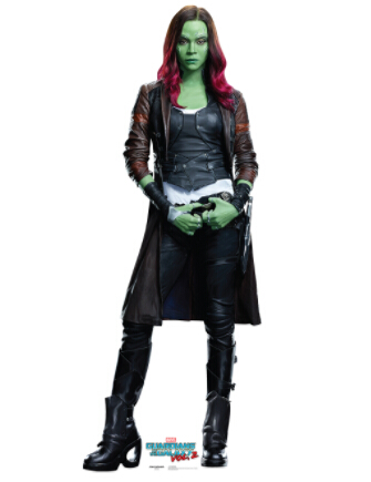 Gamora Cosplay Costume from Guardians of the Galaxy Vol. 2