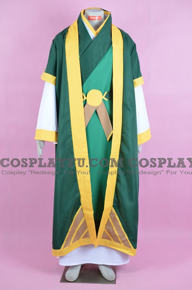 Uncle Iroh Cosplay Costume from Avatar: The Last Airbender