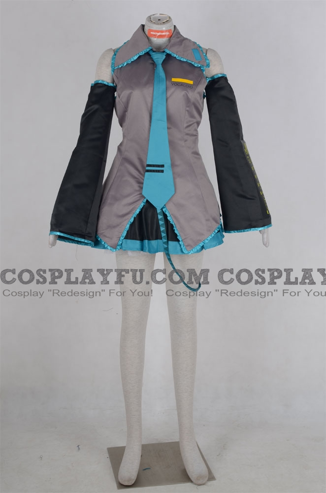 Miku Cosplay Costume (46-001) from Vocaloid