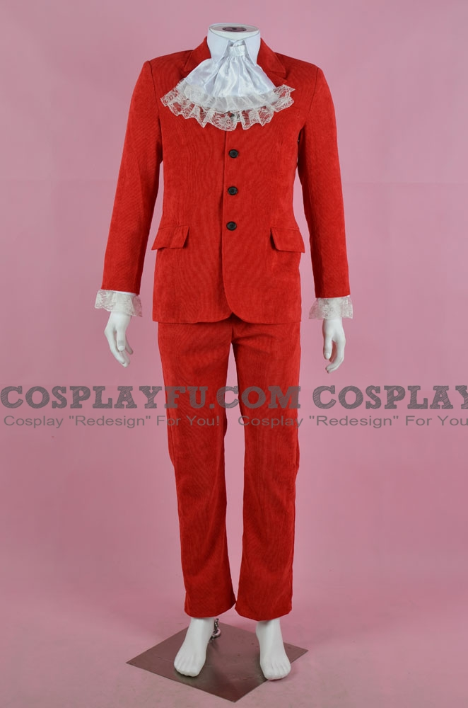 Austin Powers Cosplay Costume (Red) from Austin Powers: International Man of Mystery