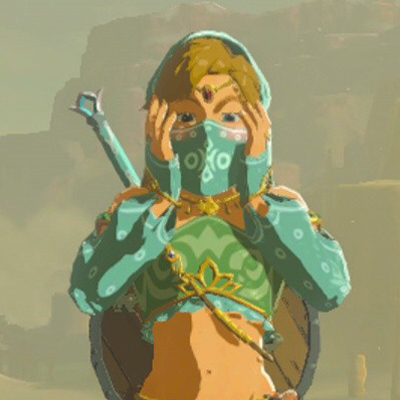 Custom Link Cosplay Costume Gerudo Armour Set From Legend