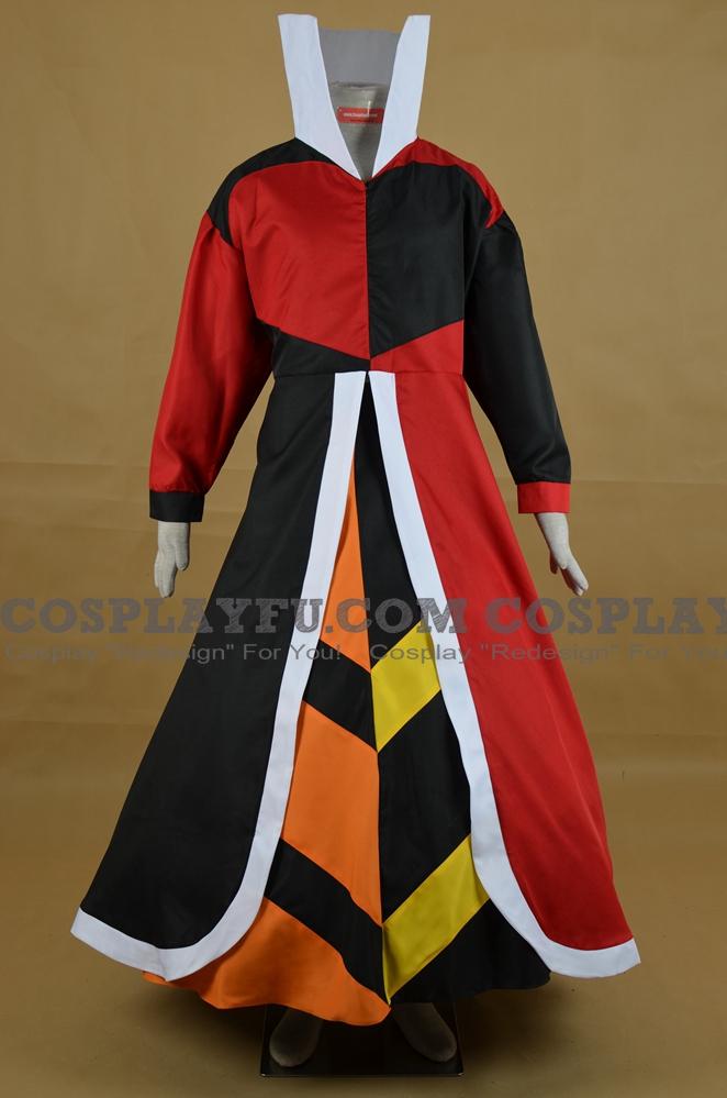 Heart Queen Cosplay Costume from Alice in Wonderland