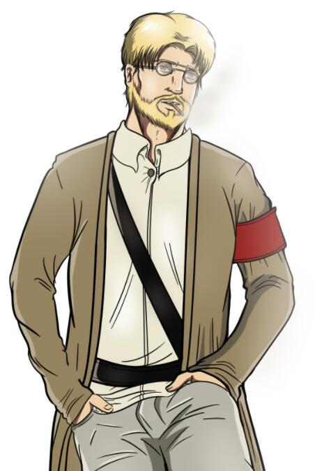 Zeke Cosplay Costume from Attack On Titan