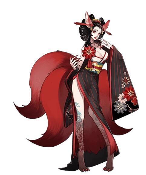 Sanbi no Kitsune Cosplay Costume from Onmyoji