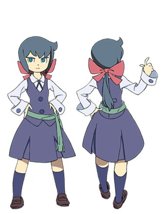 Constanze Cosplay Costume from Little Witch Academia