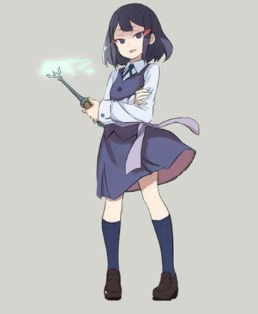 Avery Cosplay Costume from Little Witch Academia